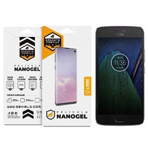 Película Nano Gel Dupla para Motorola Moto G5S Plus - Gshield (Cobre toda tela)