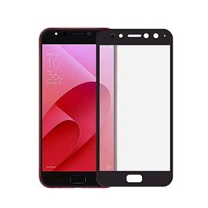 Película de Vidro Coverage Color para Asus Zenfone 4 Selfie PRO ZD552KL - Preta - Gorila Shield (Cobre toda tela)
