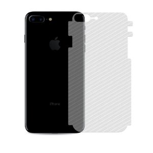 Película Traseira de Fibra de Carbono Transparente para Iphone 8 Plus - Gorila Shield