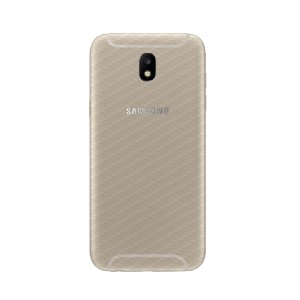 Película Traseira de Fibra de Carbono Transparente para Samsung J7 PRO - Gorila Shield