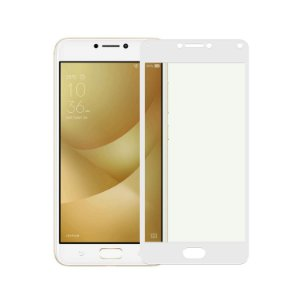 Película Coverage 5D Pro Branca para Asus Zenfone 4 Max ZC554KL - Gshield (Cobre toda tela)