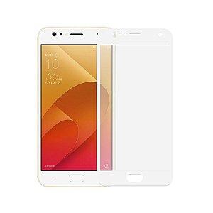 Película Coverage Color para Asus Zenfone 4 Selfie ZD553KL - Branca - Gshield (Cobre toda tela)