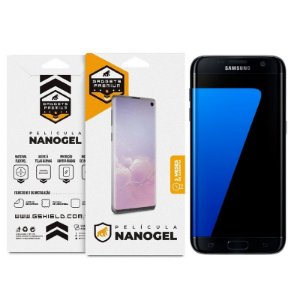 Película Nano Gel Dupla para Samsung Galaxy S7 Flat – Gshield (Cobre toda tela)