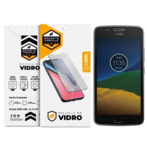 Pelicula de vidro dupla para Motorola Moto G5 Plus - Gshield