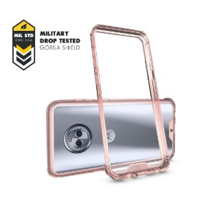 Capa Ultra Slim Air Rosa para Motorola Moto X4 - Gorila Shield