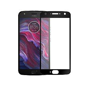 Película Coverage Color para Motorola Moto X4 - Preta - Gorila Shield (Cobre toda tela)