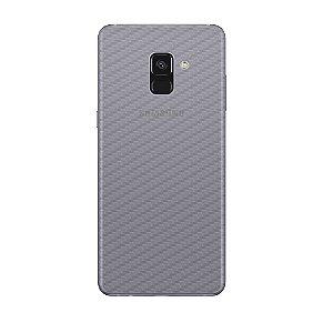 Película Traseira de Fibra de Carbono Transparente para Samsung Galaxy A8 2018 Plus - Gorila Shield