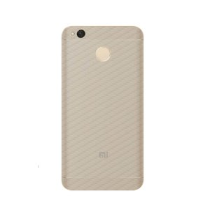Película Traseira de Fibra de Carbono Transparente para Xiaomi Redmi 4X - Gorila Shield