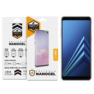 Película Nano Gel Dupla para Samsung Galaxy A8 - Gshield (Cobre Toda Tela)
