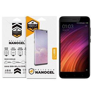 Película Nano Gel Dupla para Xiaomi Redmi 4X – Gshield (Cobre Toda Tela)