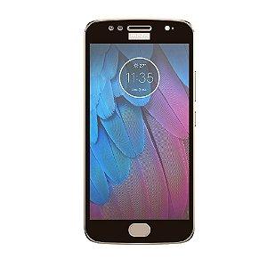 Película Coverage Color para Motorola Moto G5S - Preta - Gorila Shield (COBRE TODA TELA)