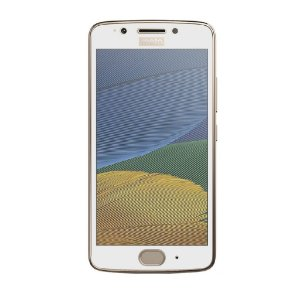 Película Coverage Color para Motorola Moto G5 - Branca - Gorila Shield (COBRE TODA TELA)