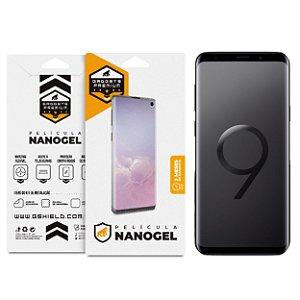 Película Nano Gel Dupla para Samsung Galaxy S9 - Gshield (Cobre Toda Tela)