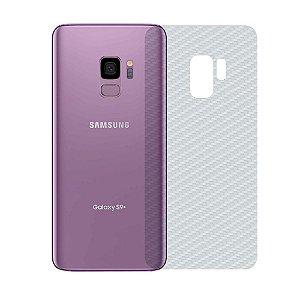 Película Traseira de Fibra de Carbono Transparente para Samsung Galaxy S9 - Gshield