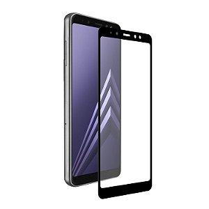 Película Coverage 5D Pro Preta para Samsung Galaxy A8 Plus - Gshield (COBRE TODA TELA)