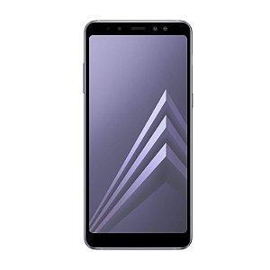 Película Coverage Color para Samsung Galaxy A8 Plus - Preta - Gorila Shield (COBRE TODA TELA)