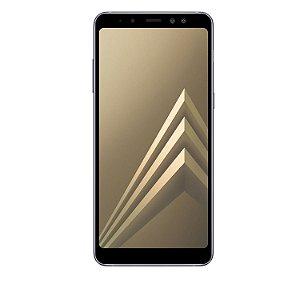 Película Coverage Color para Samsung Galaxy A8 - Preta - Gorila Shield (COBRE TODA TELA)