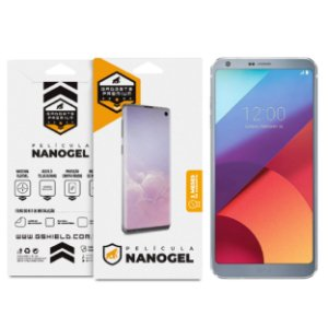 Película Nano Gel Dupla para LG G6 - Gshield (Cobre Toda Tela)