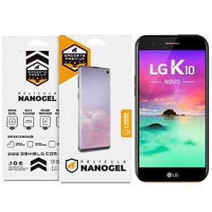 Película Nano Gel Dupla para LG K10 2018 – Gshield (Cobre Toda Tela)