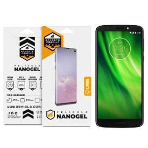 Película Nano Gel Dupla para Motorola Moto G6 - Gshield (Cobre Toda Tela)