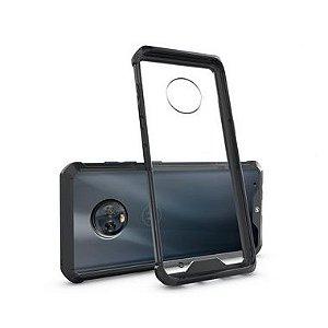 Capa Ultra Slim Air preta para Motorola Moto G6 Plus - Gshield