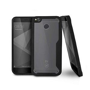 Capa Atomic para Xiaomi Redmi 4X - Preta - Gorila Shield