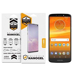 Película Nano Gel Dupla para Motorola Moto E5 Plus - Gshield (Cobre Toda Tela)
