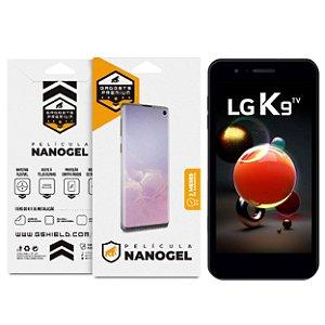 Película Nano Gel Dupla para LG K9 – Gshield (Cobre Toda Tela)
