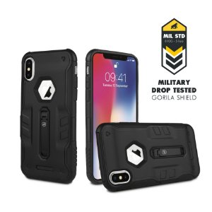 CAPA TECH CLIP PARA IPHONE X - GORILA SHIELD