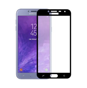 PELÍCULA COVERAGE COLOR PARA GALAXY J4 - PRETA - GORILA SHIELD