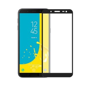 Película Coverage Color para Galaxy J6 - Preta - Gorila Shield