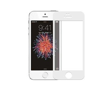 Película Coverage Color para iPhone 5, 5s e SE - BRANCA - Gshield