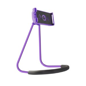 Suporte de Pescoço para Smartphone Roxo - Gorila Shield