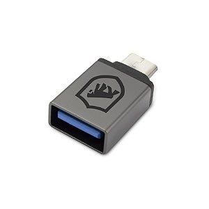 Adaptador OTG - V8 para USB - Gorila Shield