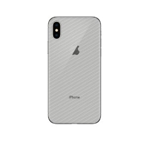 Película Traseira de Fibra de Carbono Transparente para Iphone XS Max - Gorila Shield