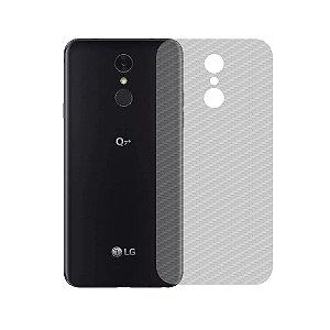 Película Traseira de Fibra de Carbono Transparente para LG Q7 Plus - Gshield