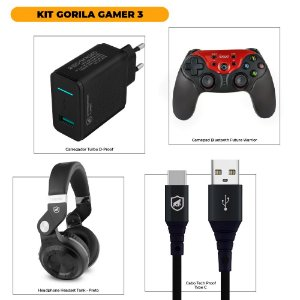KIT GORILA GAMER 3 - OUTLET