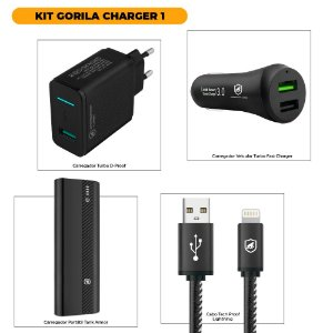 KIT GORILA CHARGER 1 - OUTLET