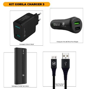 KIT GORILA CHARGER 3 - OUTLET