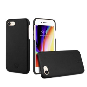 Capa Leather Slim Preta iPhone 7 e iPhone 8 - Gorila Shield