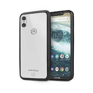 Capa Ultra Slim Air Preta para Motorola One - Gshield