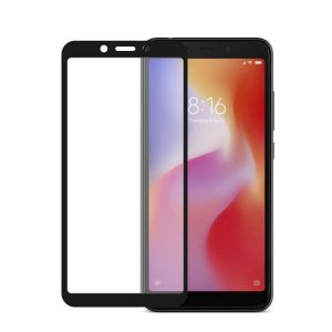 Película Coverage Color para Xiaomi Redmi 6 - Preta - Gorila Shield