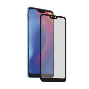 Película Coverage Color para Xiaomi Mi A2 Lite - Preta - Gorila Shield