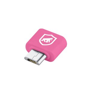 Adaptador OTG Rosa - V8 para USB - Gorila Shield