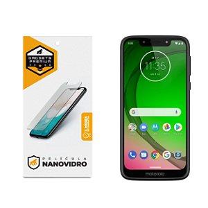 Película de Nano Vidro para Motorola Moto G7 Play - Gshield