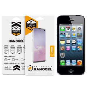 Película de Nano Gel Dupla para iPhone 5, iPhone 5S E iPhone SE - Gshield