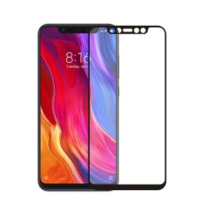 Película Coverage Color para Xiaomi Mi 8 - Preta - Gorila Shield