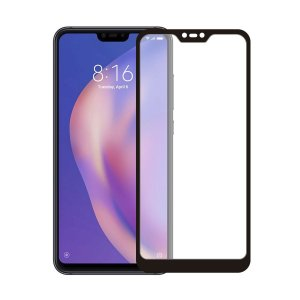 Película Coverage Color para Xiaomi Mi 8 Lite - Preta - Gorila Shield