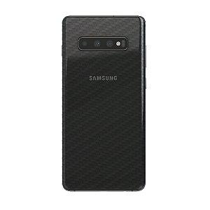 Película Traseira de Fibra de Carbono Transparente para Samsung Galaxy S10 - Gorila Shield