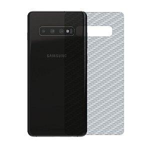 Película Traseira de Fibra de Carbono Transparente para Samsung Galaxy S10 - Gshield
